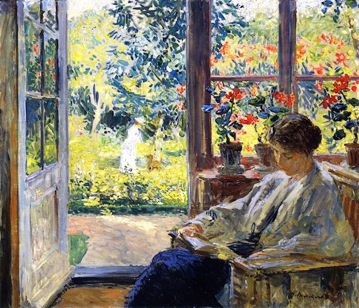 La lecture, une porte ouverte sur un monde enchanté (F.Mauriac) 180623083031352734