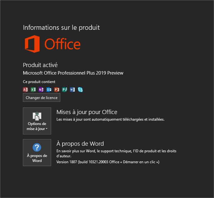 Télécharger Microsoft Office 2019 Pro Plus ISO Français ...