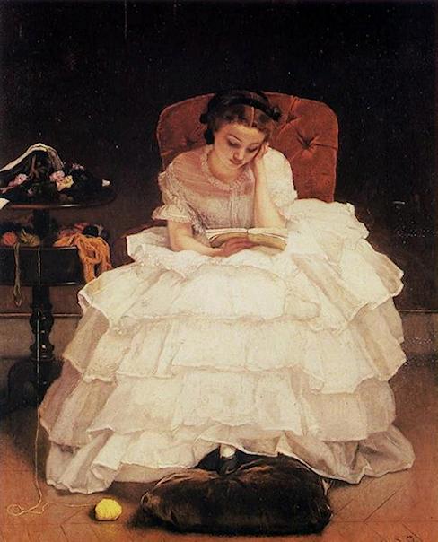 La lecture, une porte ouverte sur un monde enchanté (F.Mauriac) 180626081651782789