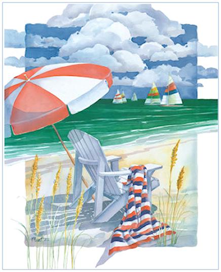 """Illustrations ... pour l'été ... Plage et """"farniente"""" ... 180628042542433138"""