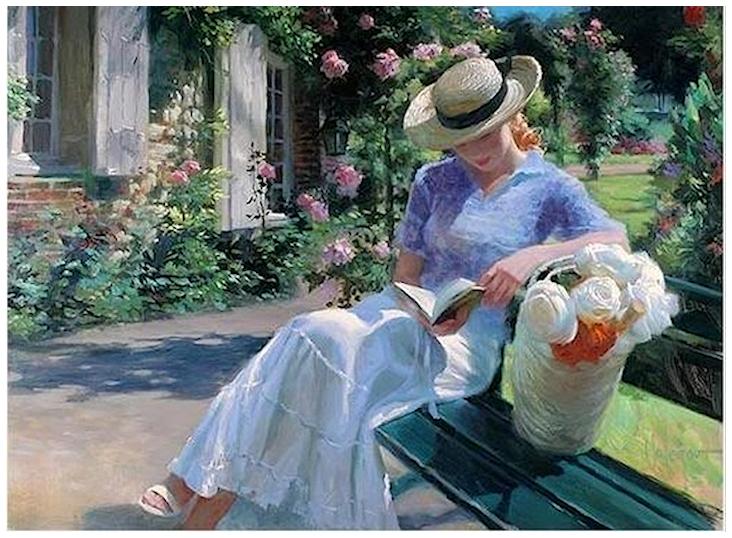 La lecture, une porte ouverte sur un monde enchanté (F.Mauriac) 180628044243245269