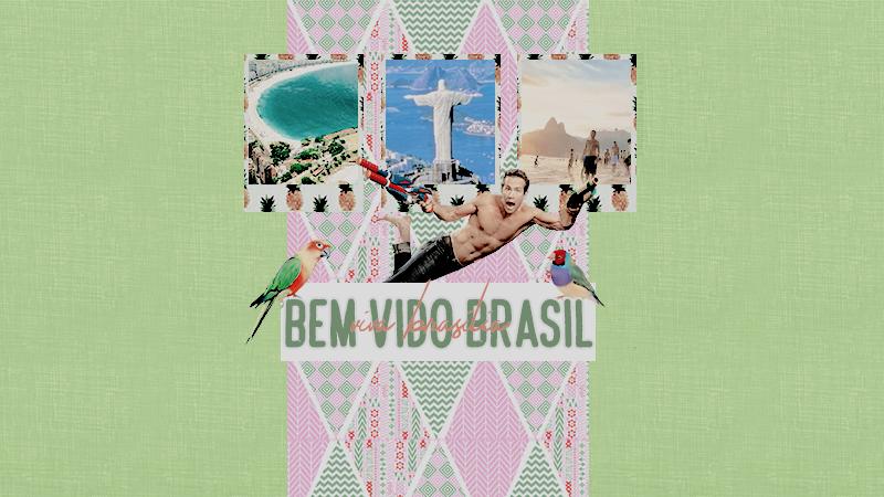 Bem-vindo brasil