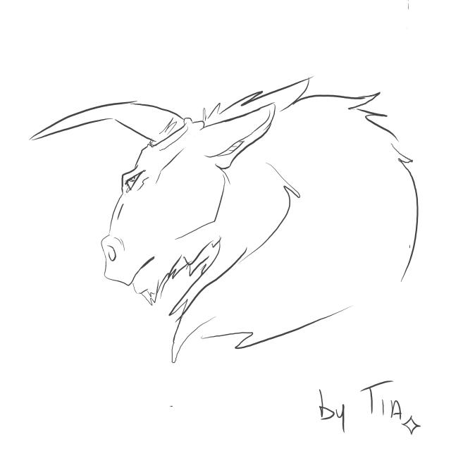 Furry taureauXloup