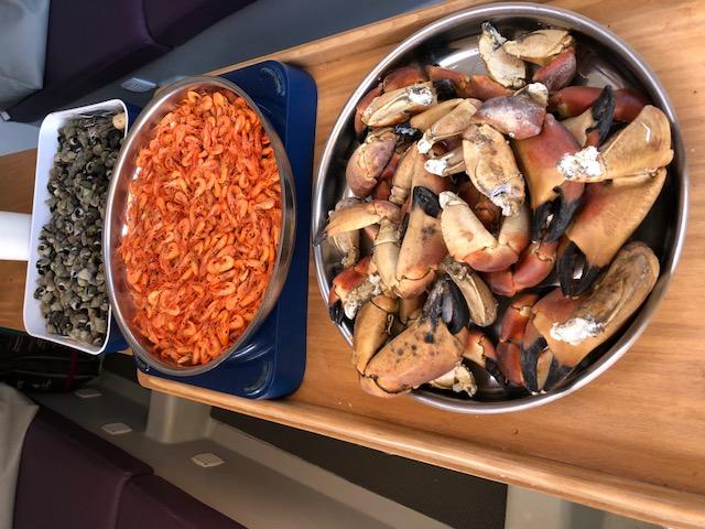 Notre repas à Derrinane
