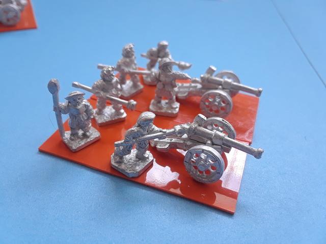 Warmonger Miniatures 10mm German Falkonet (Cannons) 180705030043802541