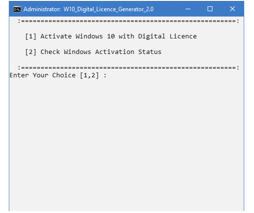 Windows 10 Digital Licence Generator v2.0 180706090601184401