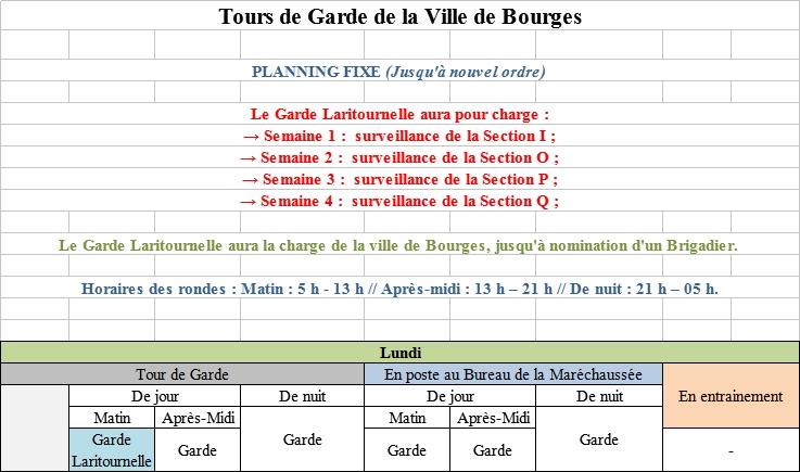 Re: [RP] Plannings des Tours de Gardes de la Ville de Bourges 180710012625843043