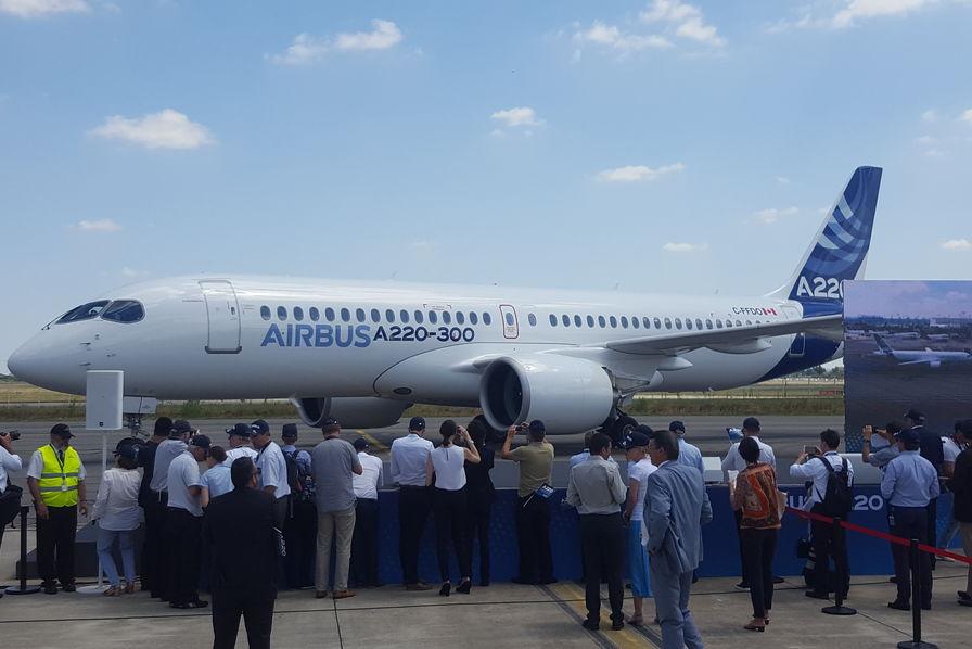 Airbus A220-100 et A220-300 (ex :  Bombardier C-Séries)  (partie 2) - Page 28 180710031545787714