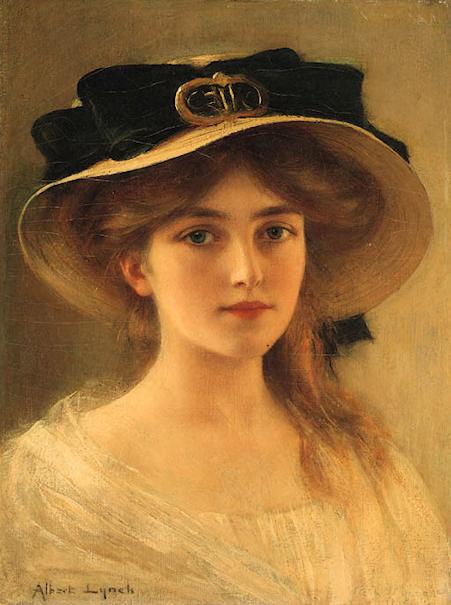 """Des élégantes  """"chapeautées"""" ... 180712121910483726"""
