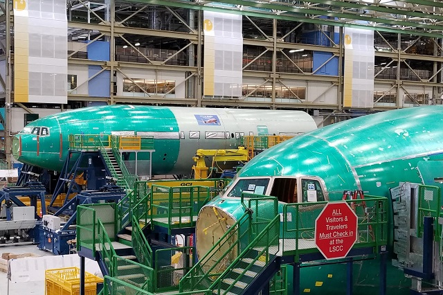 777 x fuselage assembly