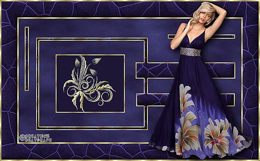 Femme robe bleue 180716093447204238