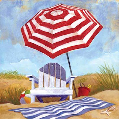"""Illustrations ... pour l'été ... Plage et """"farniente"""" ... 180716121411163979"""