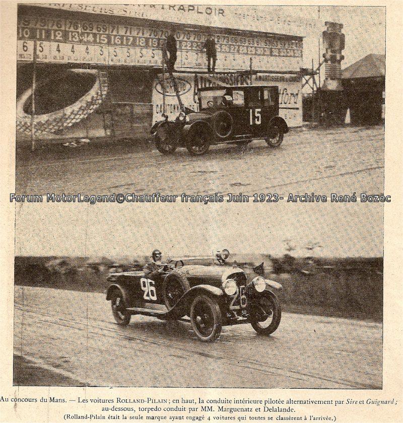 classement 24h du mans 1923 modifi page 4 forums auto de motorlegend. Black Bedroom Furniture Sets. Home Design Ideas