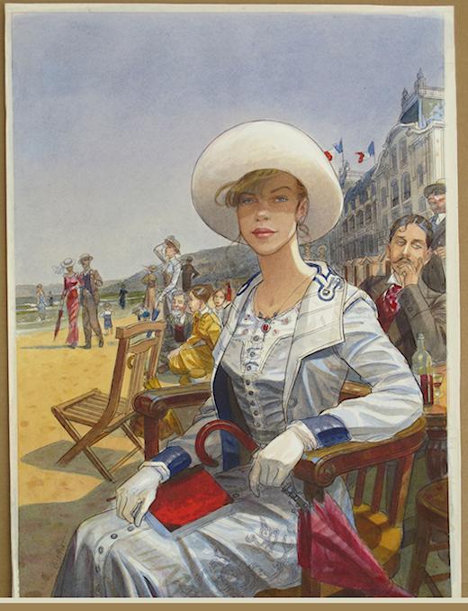 """Des élégantes  """"chapeautées"""" ... 180724102831278684"""