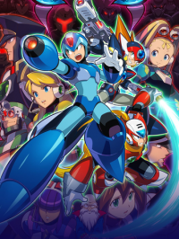 Poster for Mega Man X Legacy Collection