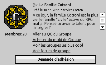 [Paul/Lucio/Jeremy/Tony] Scuro Famiglia : Famille Cotroni 18072906381495455