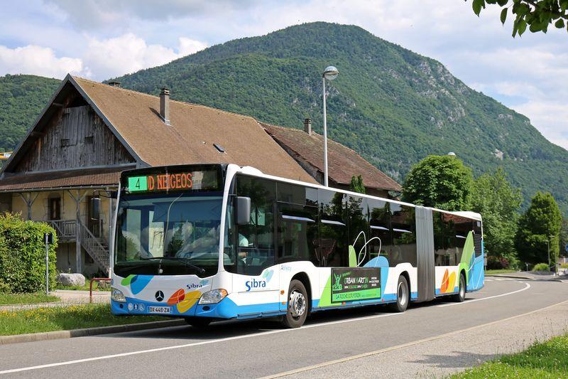 B MB CITARO O 530 G N°50 ANNECY-LE-VIEUX RUE DE L'ARC-EN-CIEL