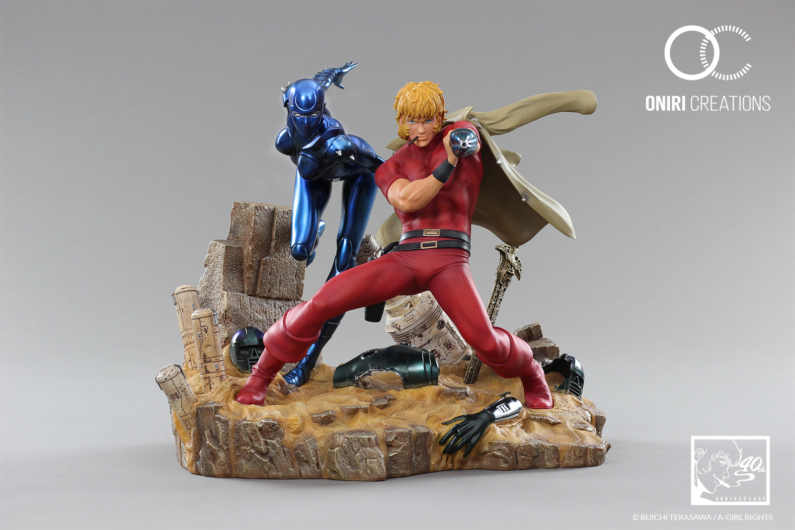 Statue-cobra-the-space-pirate-40th-anniversary-manga