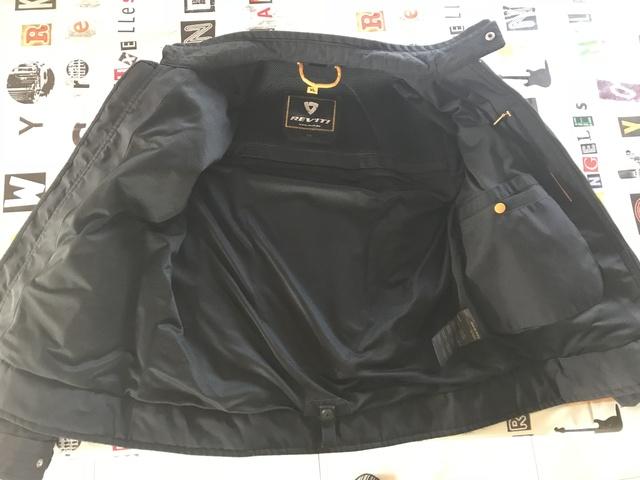 "[VENDU!] Blouson Rev'It ÉTÉ ""Manzoni"" noir XL, 45€ 180802061704319623"