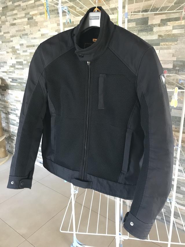 "[VENDU!] Blouson Rev'It ÉTÉ ""Manzoni"" noir XL, 45€ 180802061709268586"