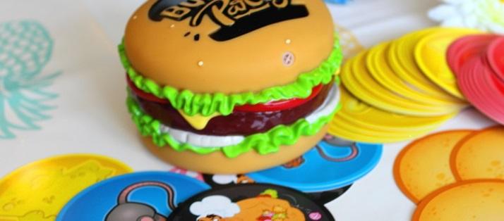 Burger Party, le jeu de société gourmand de chez Goliath