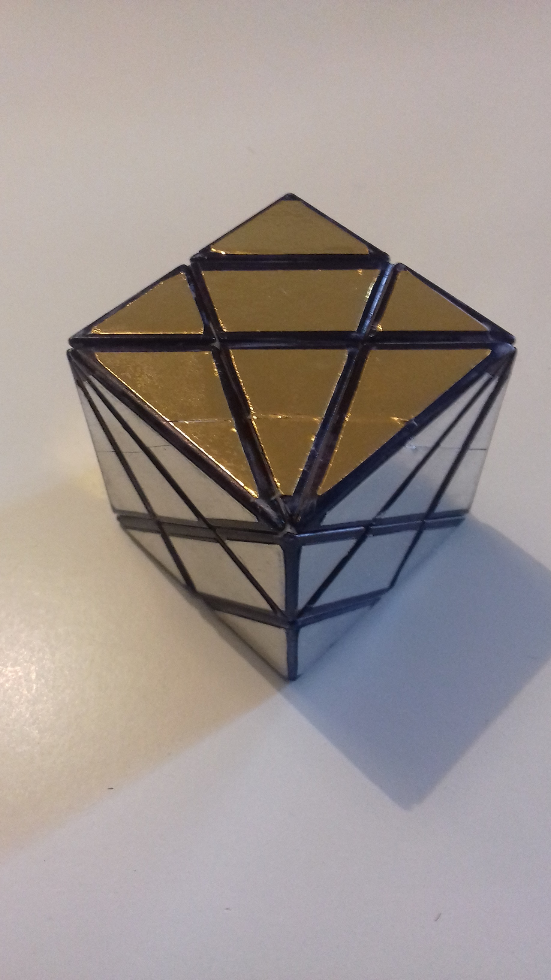Silver & Gold  Axis cube mod    perso