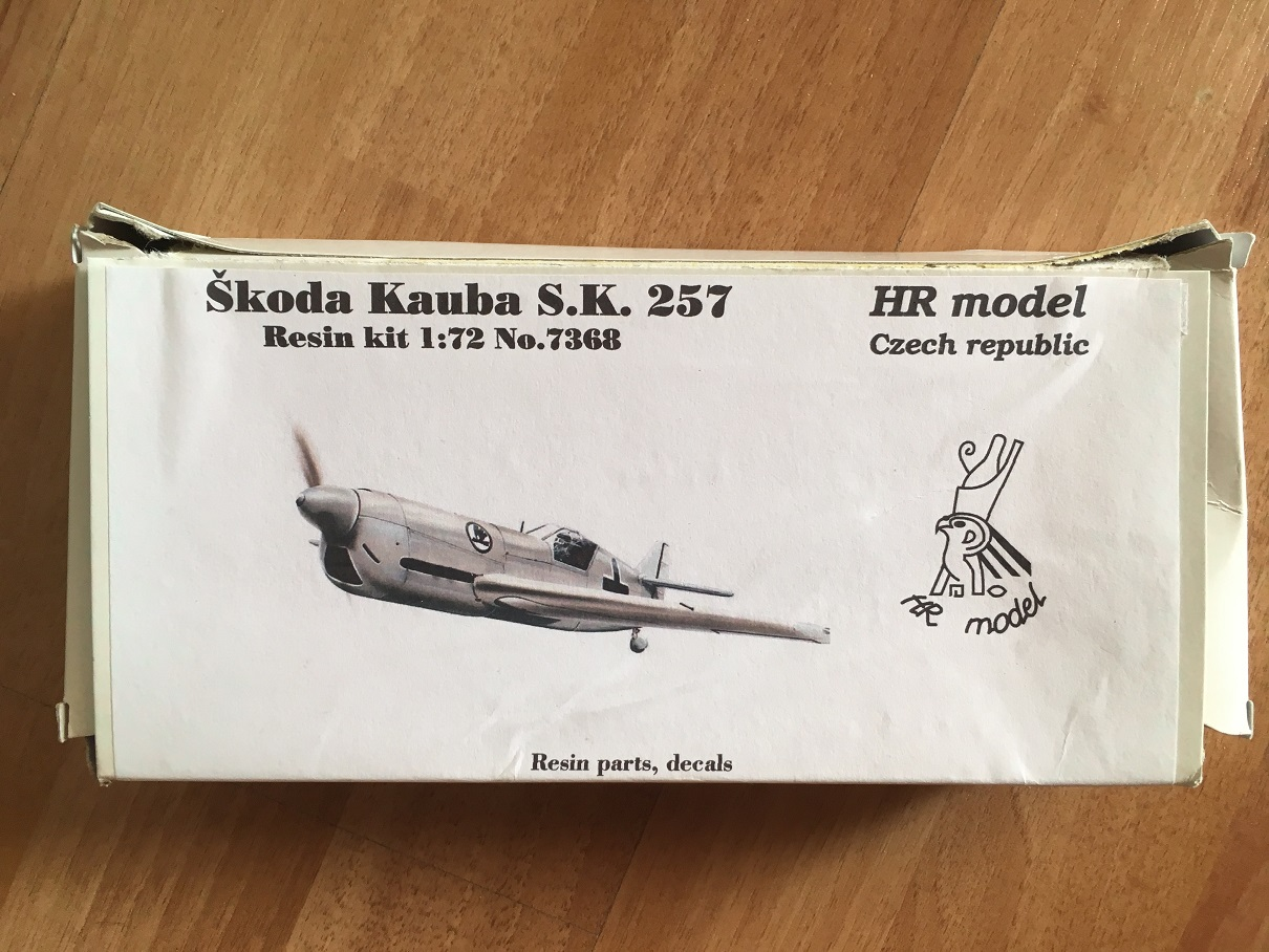 [HR Models] Skoda-Kauba SK 257 - 1/72 180812074145527522