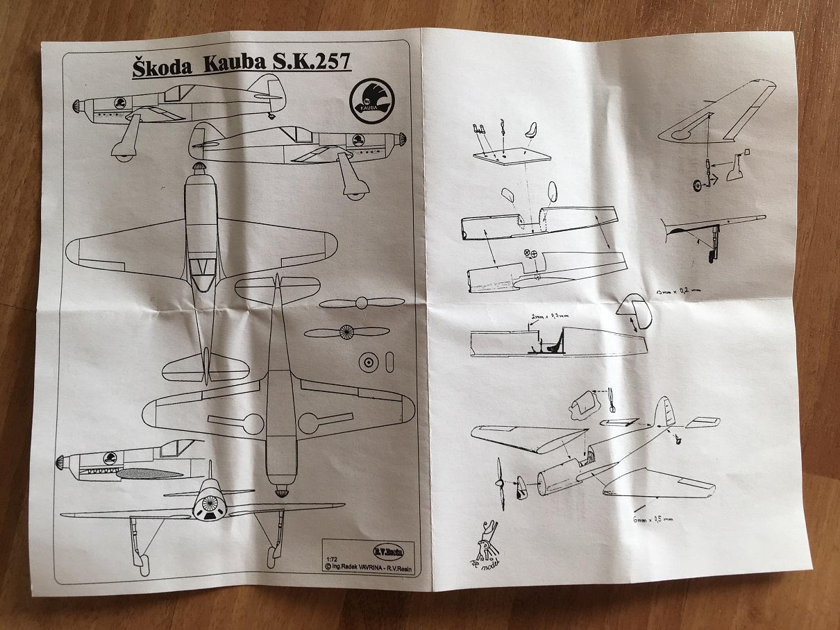 [HR Models] Skoda-Kauba SK 257 - 1/72 18081207414616817