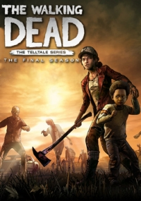 Poster for The Walking Dead: The Telltale Series - The Final Season Episode 1: Done Running