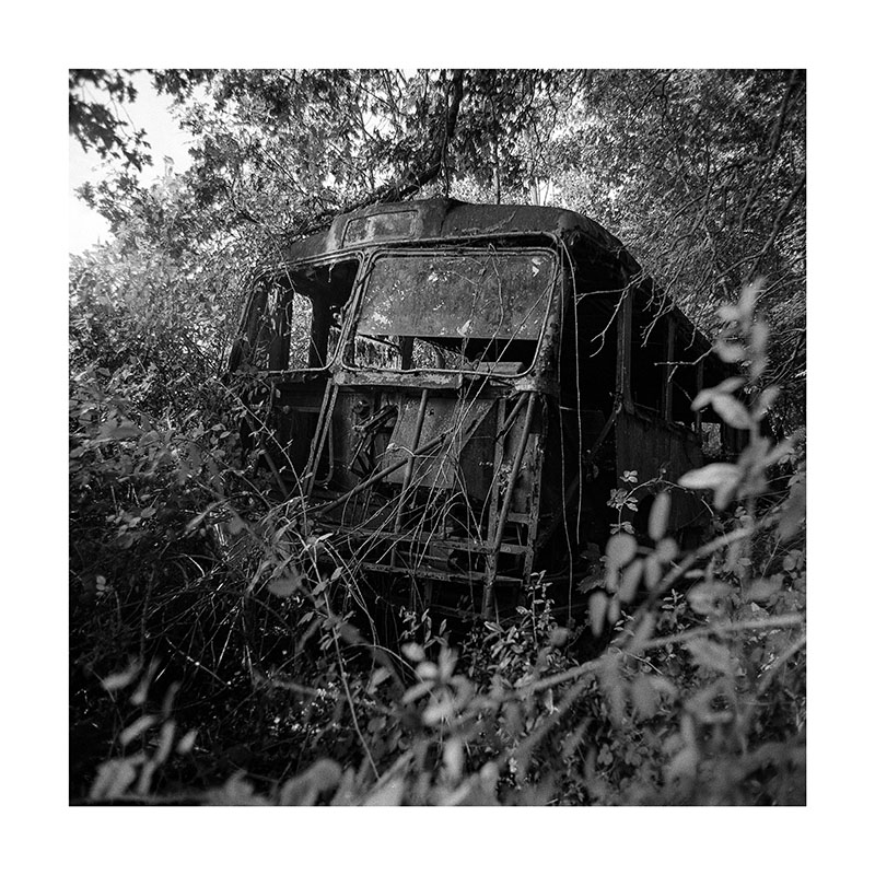 scan Bus abandonné
