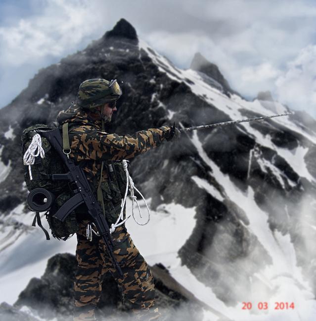 Impression troupes de montagne, Oural 2014 180816012745648163