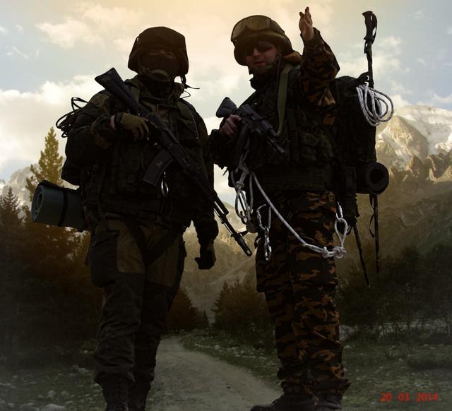 Impression troupes de montagne, Oural 2014 180816013552834326