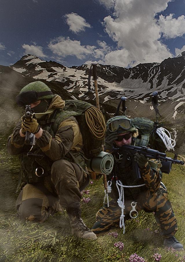 Impression troupes de montagne, Oural 2014 180816020005938940