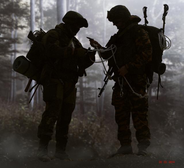 Impression troupes de montagne, Oural 2014 180816020031259202