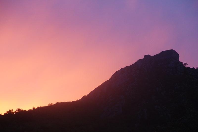 Ciel de feu sur Montségur dans Actualité locale 180817082333588391