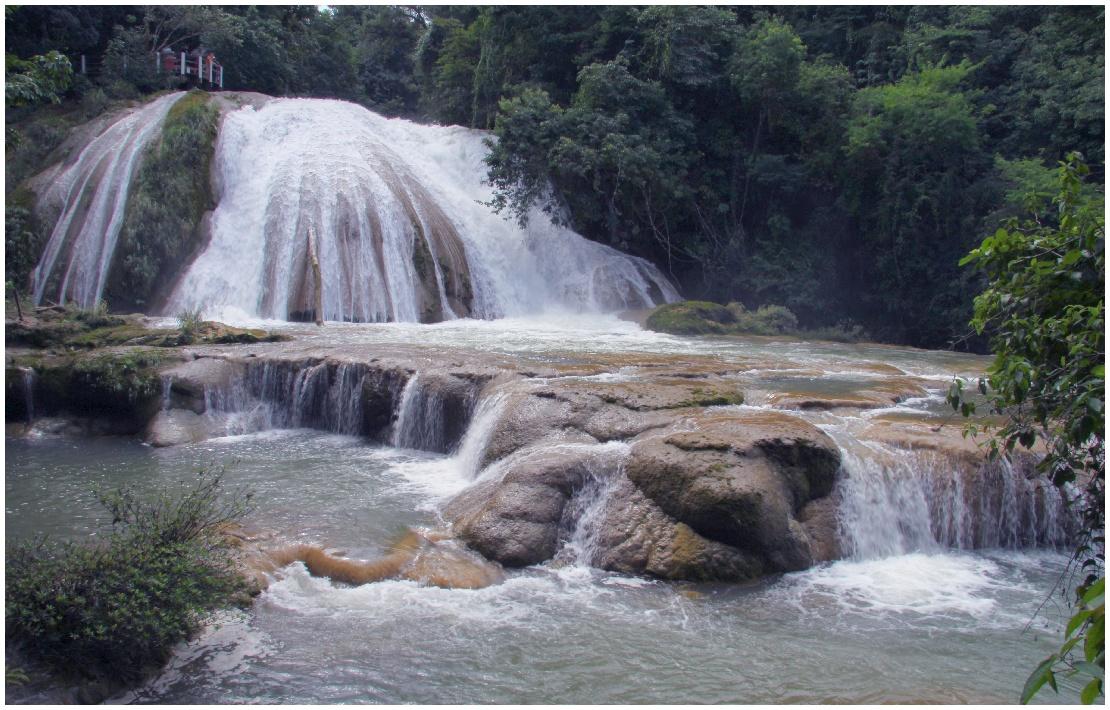 Les chutes d'Agua Azul  180822055614245956