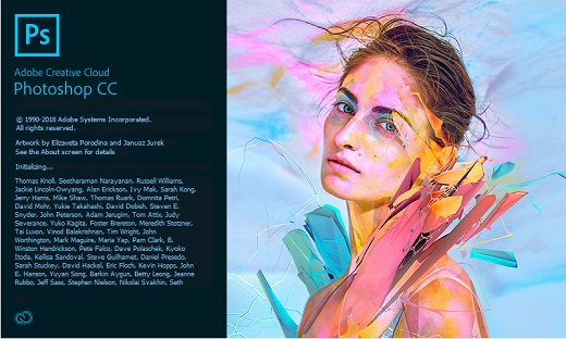 Adobe Photoshop CC 2018 v19.1.7.16293 (x64) Multilingual
