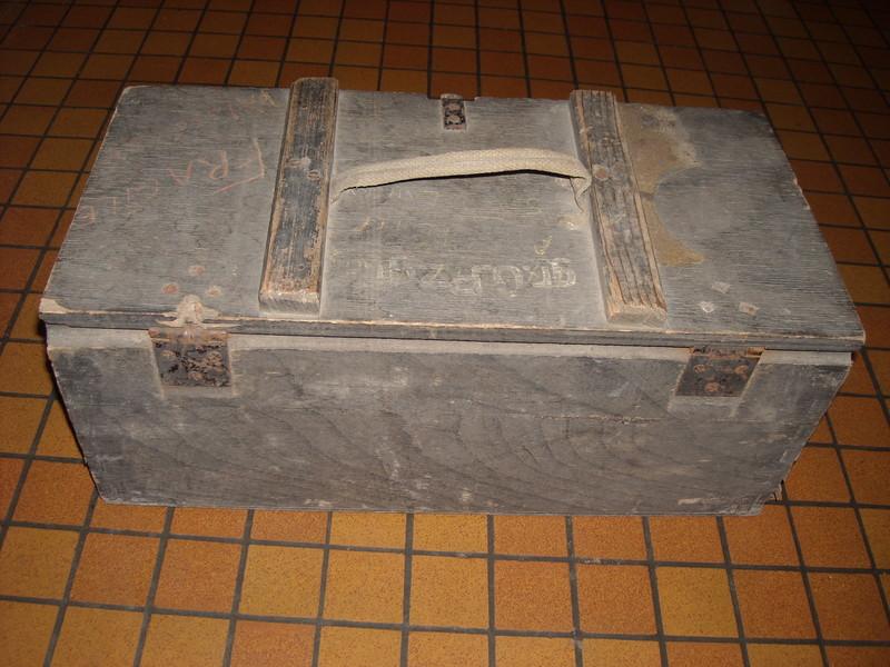 caisse Allemande 1943 pour 20 x Grosse Gewehr-Panzergranate 40 180824083050736285