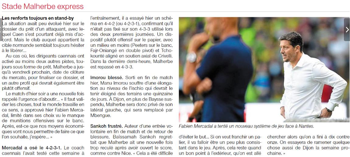 [3e journée de L1] FC Nantes 1-1 SM Caen  - Page 2 180826102401180284