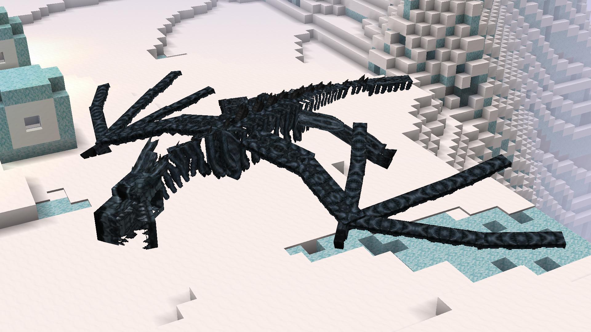Squelette de Dragon de Glace