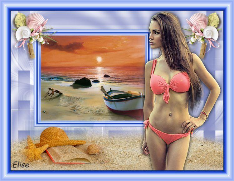Journée ensoleillée à la mer    ( psp) 180911064917391137