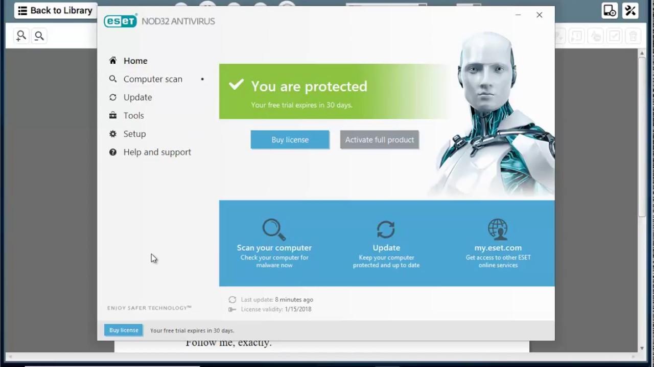 ESET NOD32 Antivirus 11.2.63.0 (86x 64x) Multilingual Full With crack