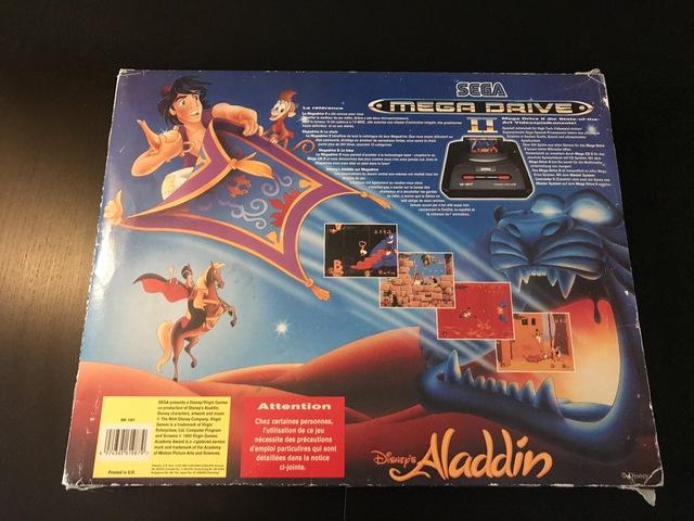 [VENDU]Pack Megadrive Aladdin  180913025715698712