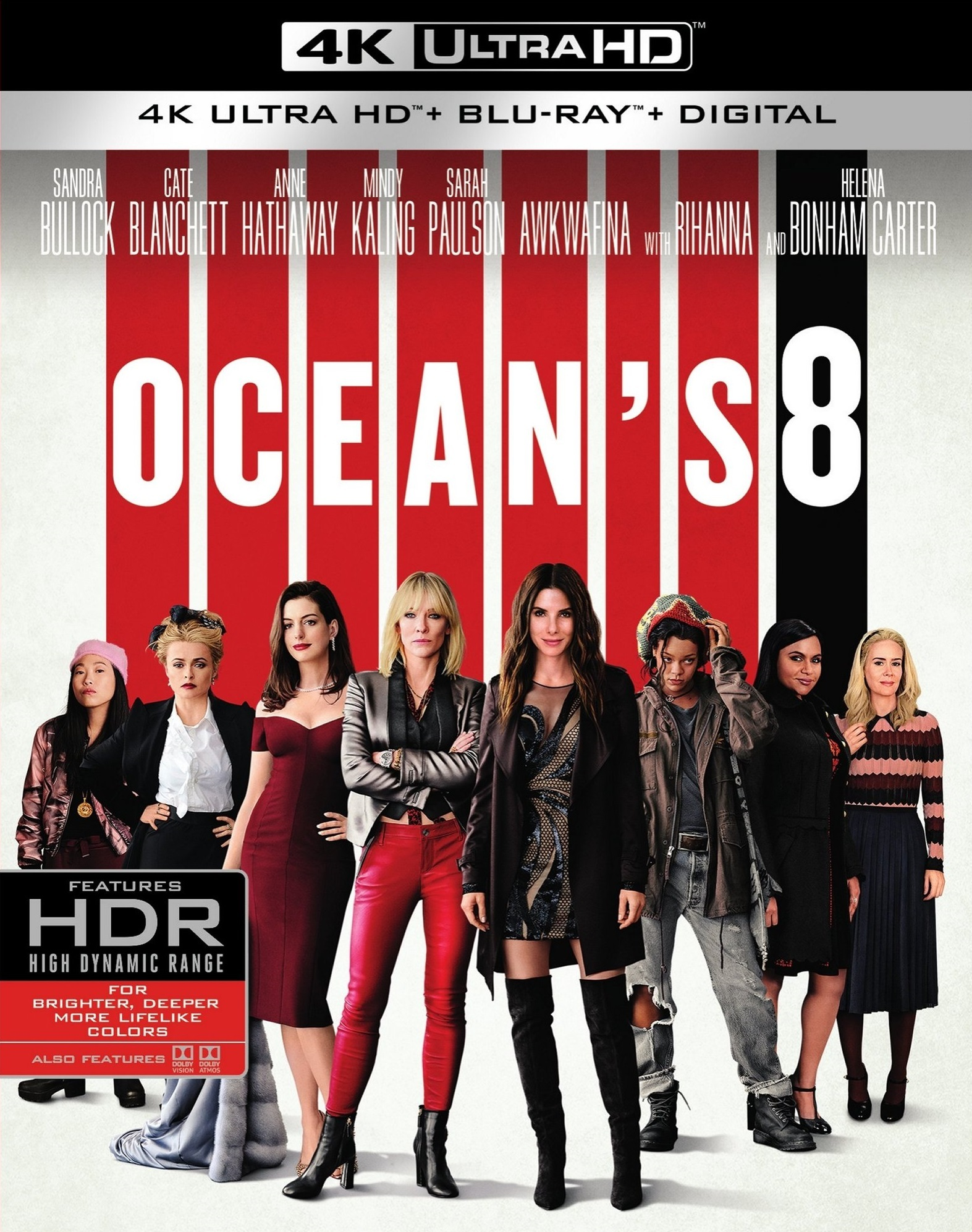 Oceans Eight (2018) poster image