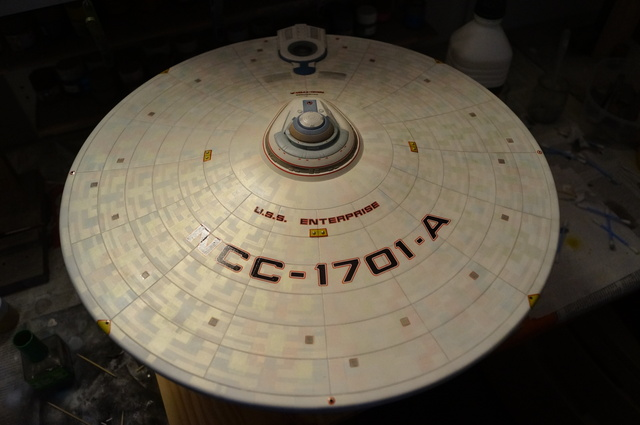 USS Enterprise NCC 1701-A Polar Light refit (ouf...) - Page 2 180913071520240680