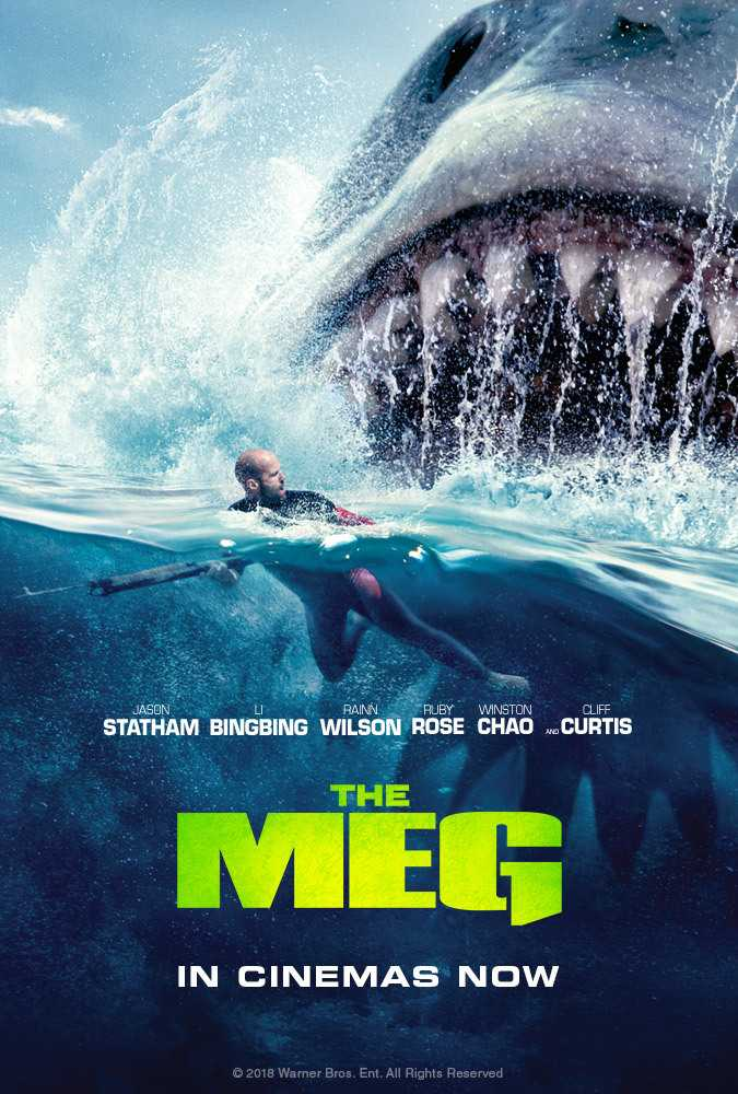 The Meg poster image