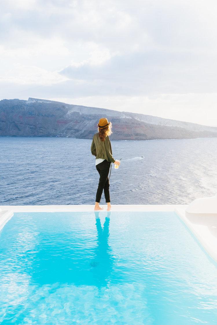 Mary Quincy piscine vue mer