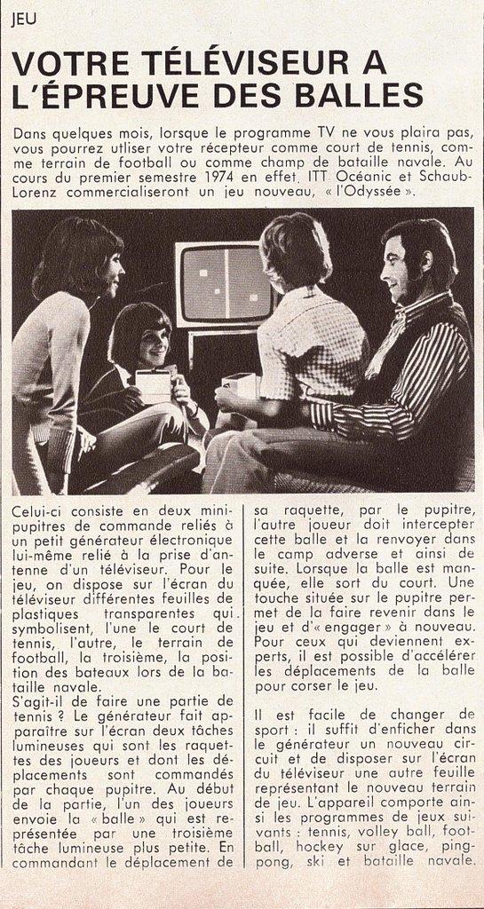 S&V janvier 1974