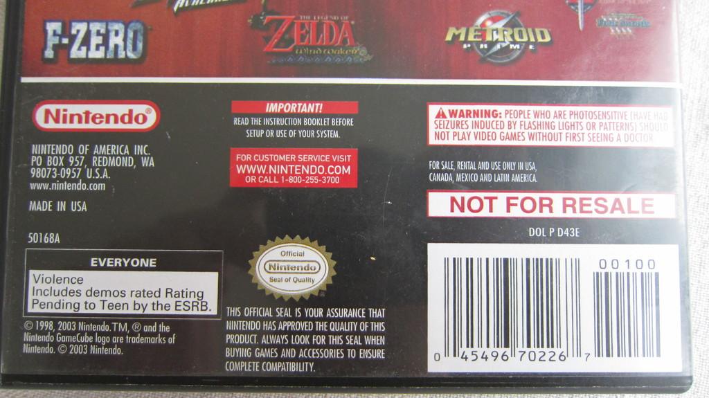 fake ? zelda OOT MQ gamecube 180919053050448272