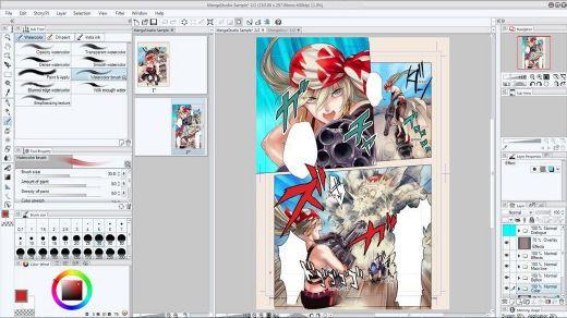 Clip Studio Paint EX 1.8.2 (x64) Multilingual 180920050141572640
